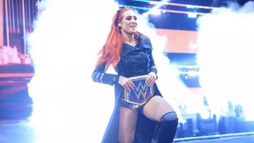 Becky Lynch has come a long way from headbanging her way down the entrance ramp