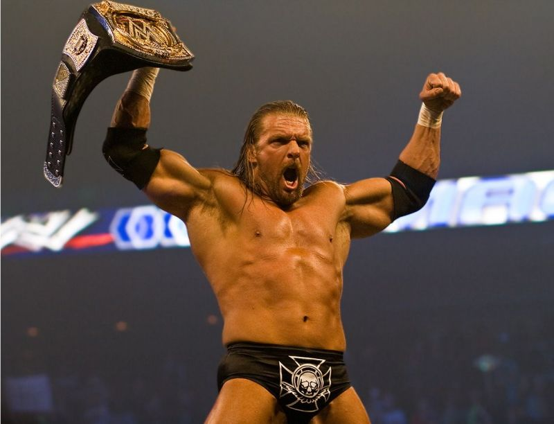 Triple H: Reclaimed the WWE Championship from Randy Orton at Backlash 2008