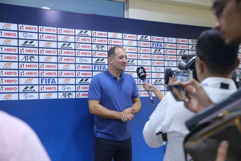 Igor Stimac was quite wary of the threat posed by the Qatar team ahead of their clash in World Cup Qualifiers