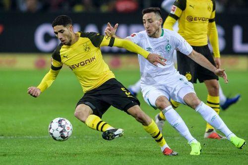 Historically, Borussia Dortmund have been the better side against Werder Bremen