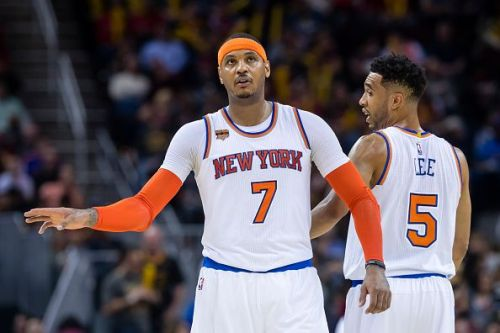 Carmelo Anthony played for the New York Knicks between 2011-2017