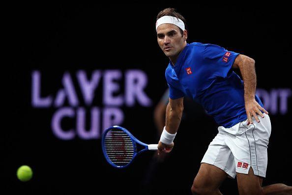 Roger Federer will lock horns with the big-serving John Isner on Day 3