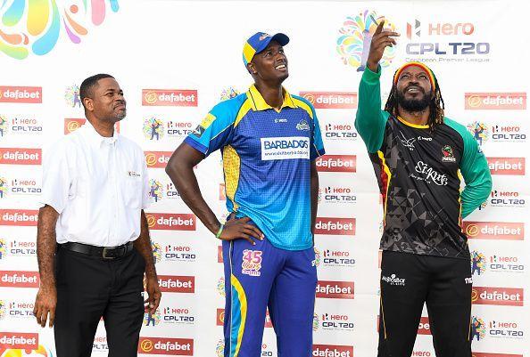 St Kitts & Nevis Patriots v Barbados Tridents