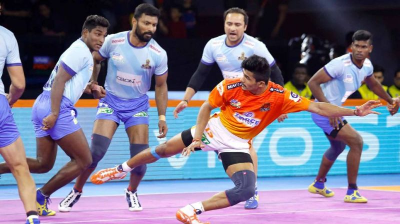 Puneri Paltan tie with the Tamil Thalaivas in a close-called face-off