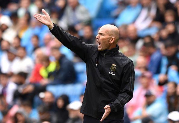 Zinedine Zidane relies on Casemiro.