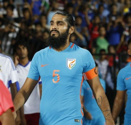 Sandeesh Jhingan was a rock solid in the defence.
