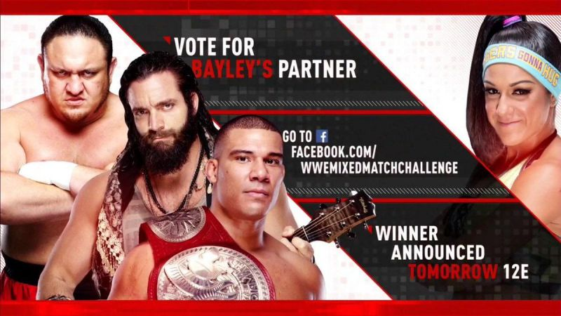 The WWE Universe can choose the participants!