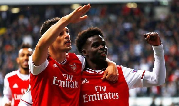 Arsenal stunned Frankfurt on the counter attack