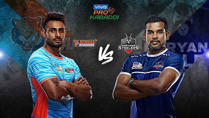 Bengal Warriors have never beaten Haryana Steelers in history. Can they do it tonight?