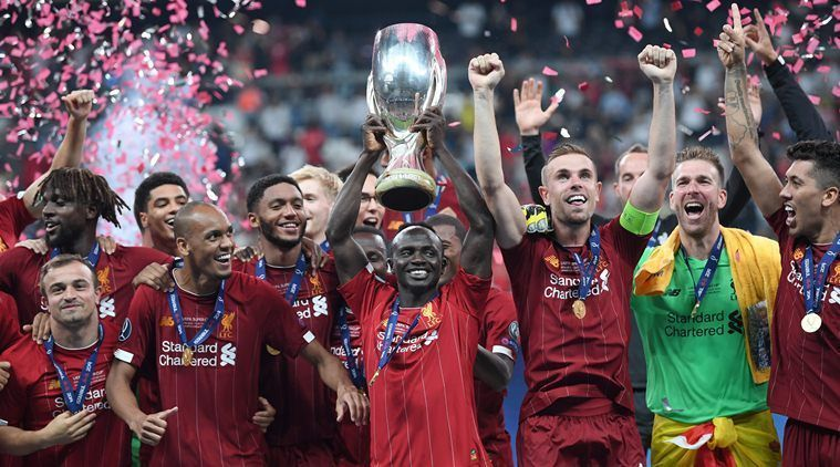 Liverpool tasted further silverware by clinching the UEFA Super Cup