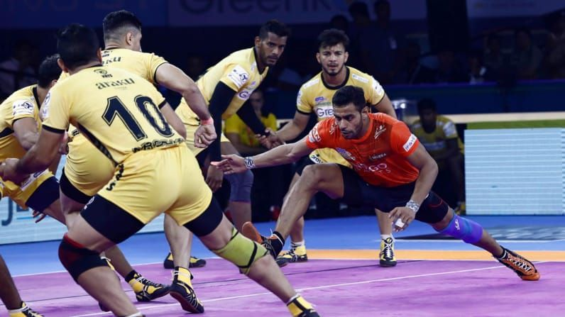 Can U Mumba move to the top 6 with a win over Telugu Titans tonight?