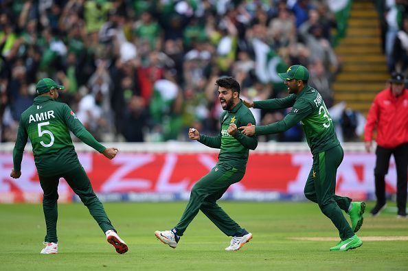 Shadab Khan has been the key to picking wickets in the middle overs