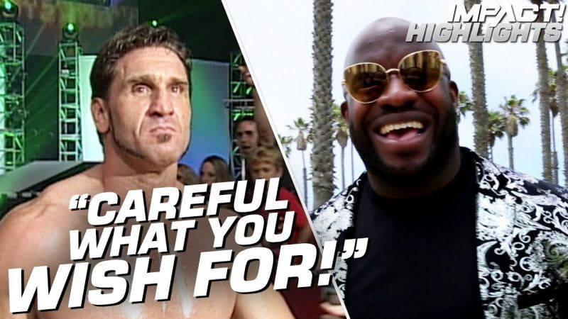 Moose had some harsh words for his adversary- Ken Shamrock