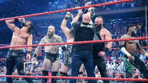 The party didn't stop on Monday Night Raw