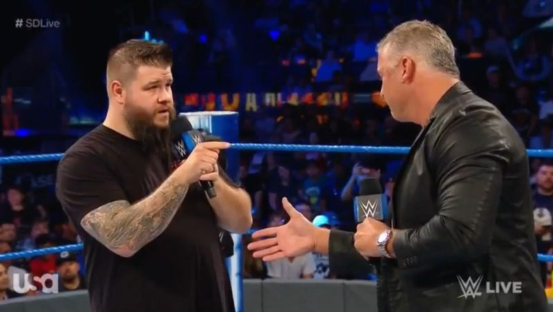 Kevin Owens had a proposal for Shane McMahon