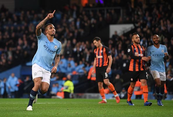 Manchester City would be meeting Shakhtar Donetsk for the third consecutive season in the UEFA Champions League