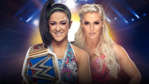 WWE SmackDown Women's Championship: Bayley (c) vs Charlotte Flair