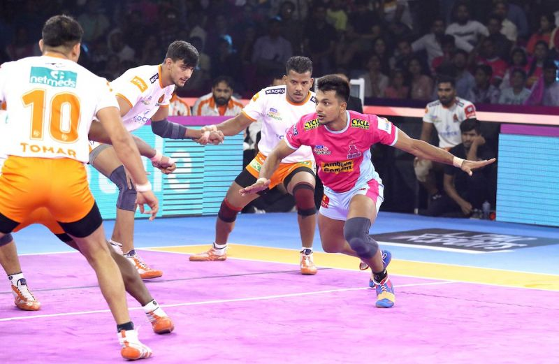Deepak Narwal was at his best for Jaipur