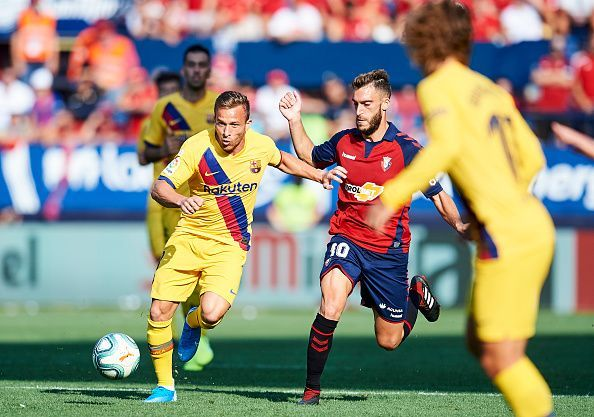 Arthur Melo was impressive in his first game of the season.