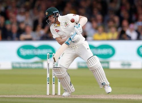 Steve Smith got hit on the head by a Jofra Archer delivery