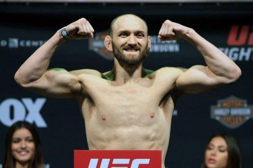 Zak Cummings will be returning at UFC 242