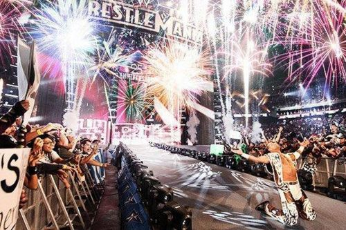 Pyrotechnics will make its long-awaited return to WWE.