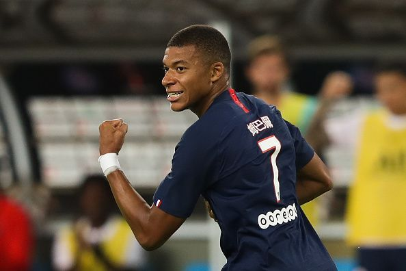 Mbappe has been the flagbearer for talented youth making their mark in the Champions League