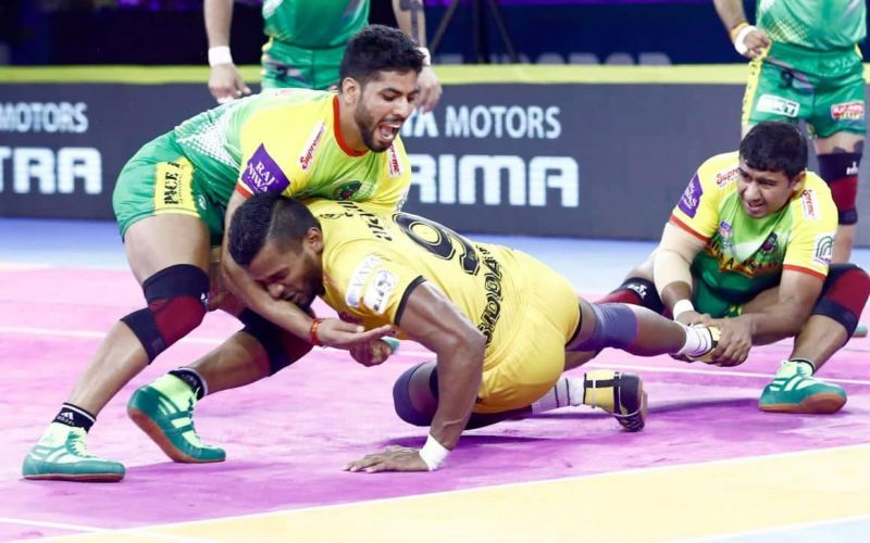 Patna Pirates tied with Telugu Titans in an intense encounter