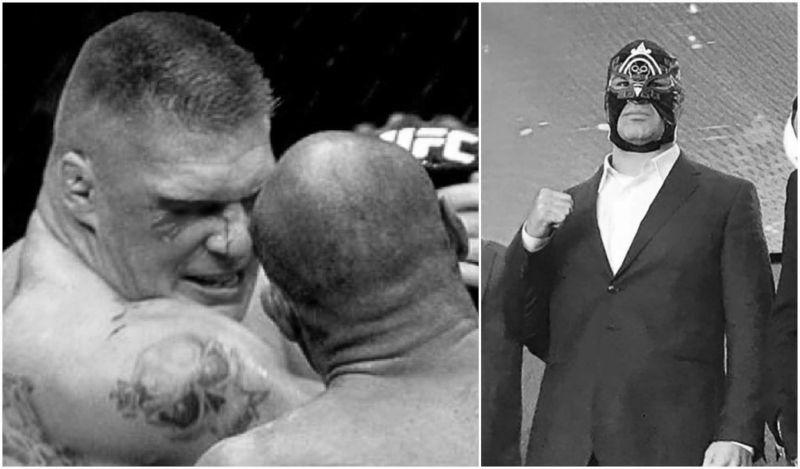 ब्रॉक लैसनर और केन वैलासकेज़ UFC में एक दूसरे से लड़ चुके हैं