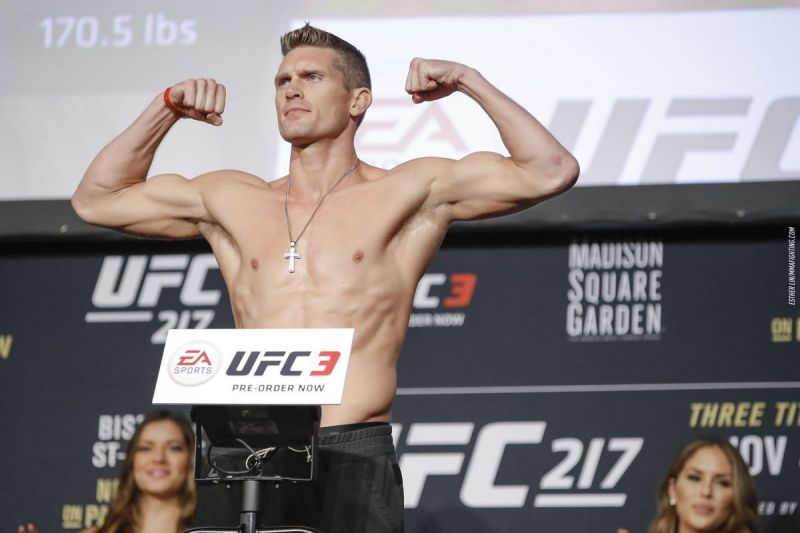 Stephen Thompson will be competing at UFC 244