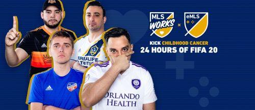 eMLS 24 hours of FIFA 20
