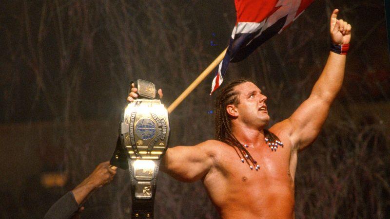 British Bulldog defeated Bret Hart to win the IC Title at Wembley Stadium.