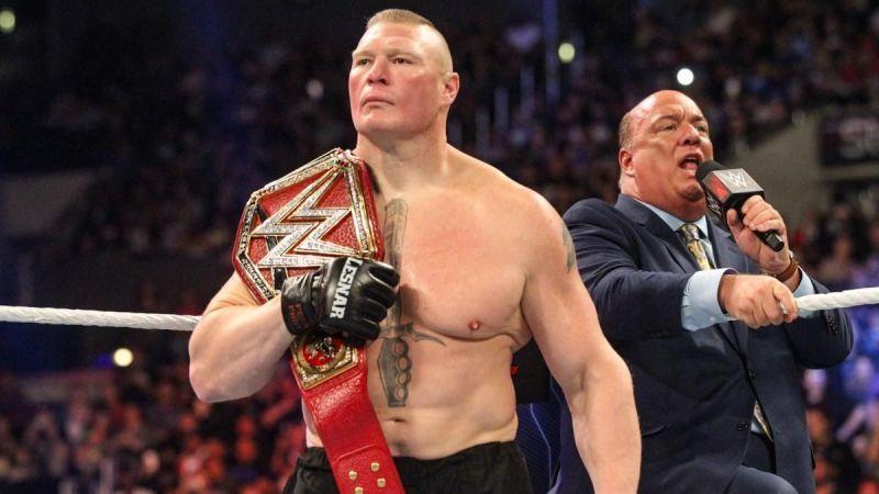 Brock Lesnar seems to be WWE