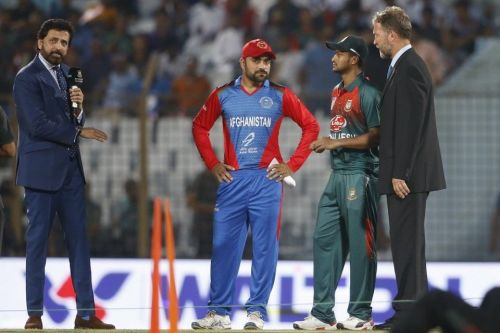 Toss in the Bangladesh vs Afghanistan match.