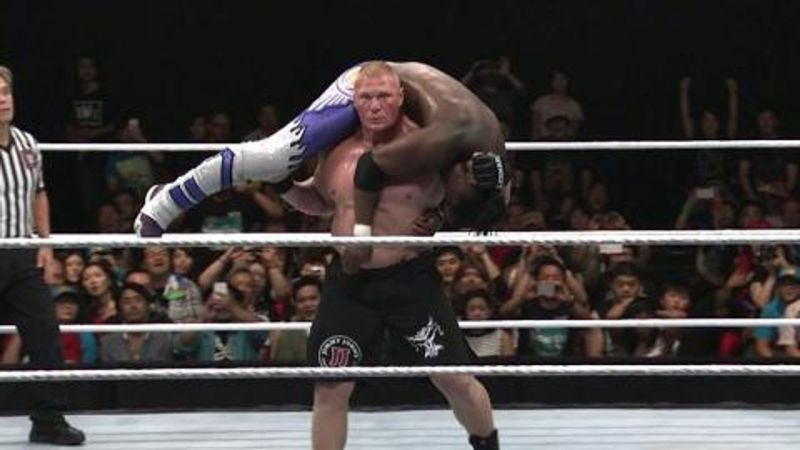 Brock Lesnar is no longer The Beast that be was four years ago
