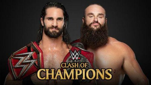 Rollins vs Strowman