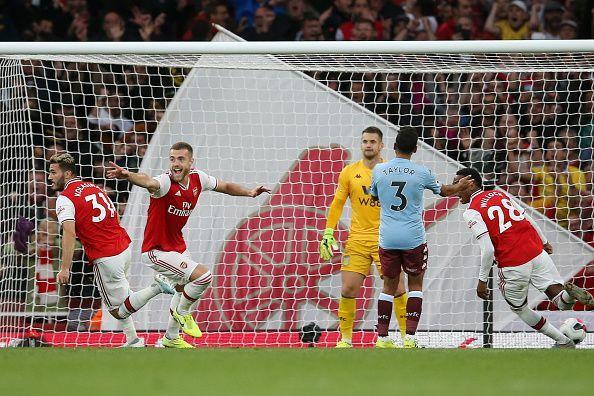 Arsenal FC v Aston Villa - Premier League.