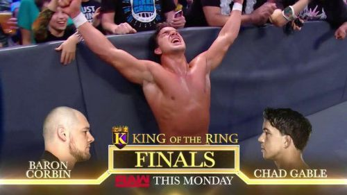 Chad Gable was the MVP of the night