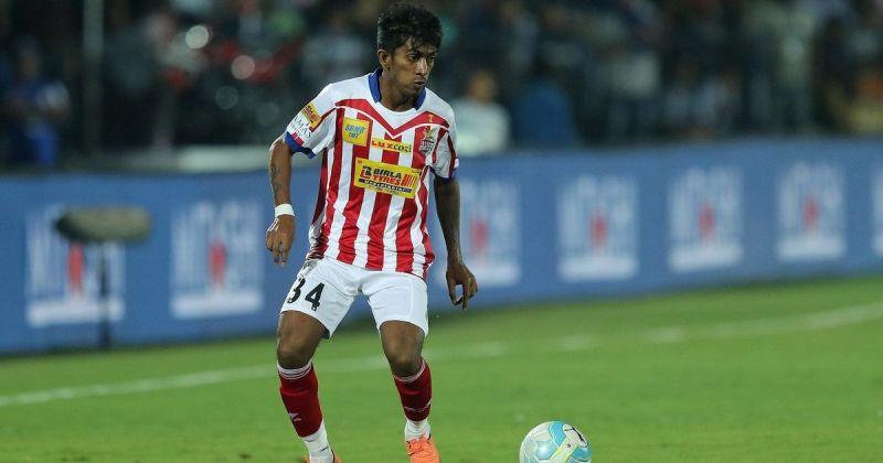 Abhinas Ruidas started his senior career with East Bengal