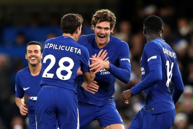 Cesar Azpilicueta and Marcos Alonso have not been at their best since last season.