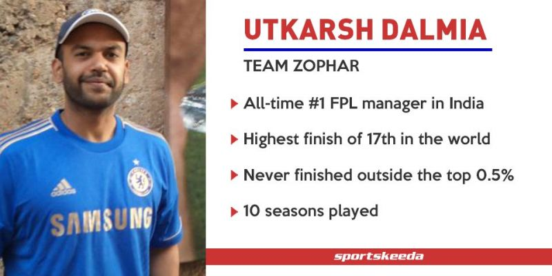 Utkarsh Dalmia - Team Zophar - Fantasy Premier League