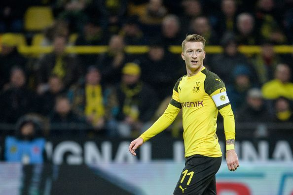Marco Reus scored a brace for Borussia Dortmund