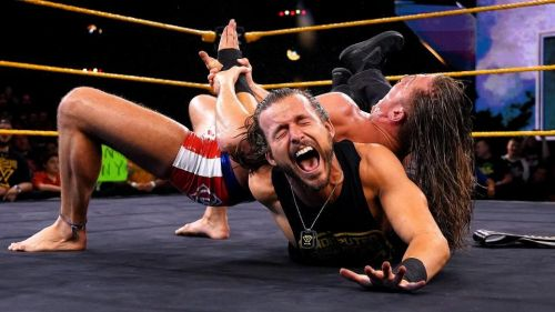 Will Adam Cole be able to outlast an Armbar?
