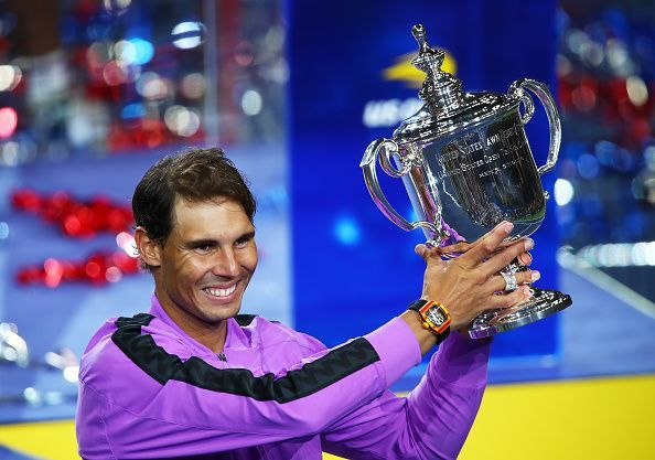 Nadal lifts his fourth title at the US Open
