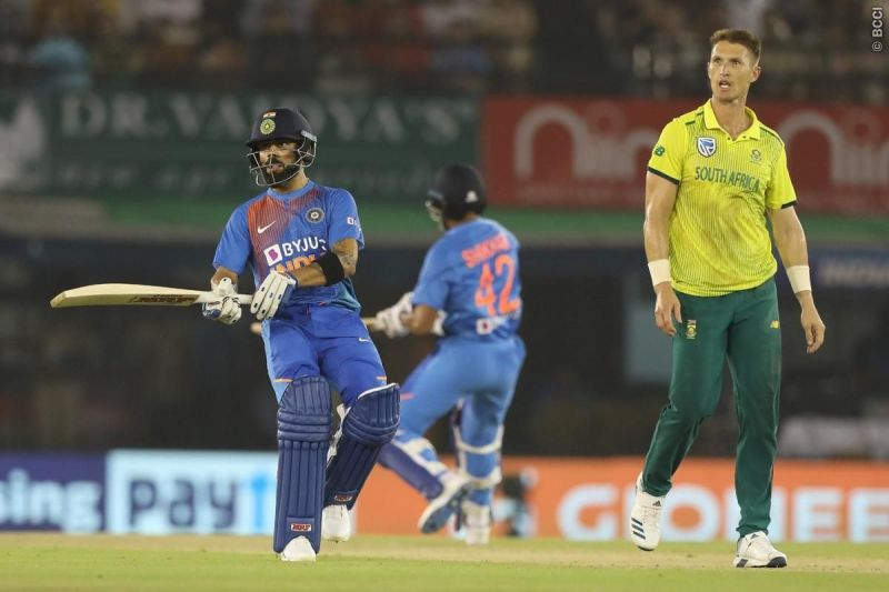 The South African bowling attack failed to put the brakes on India