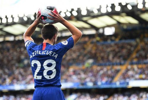 Azpilicueta has been off-colour on the pitch for Chelsea at the start of this season