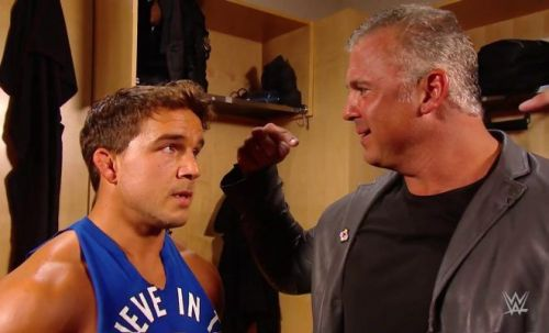 Shane McMahon once again botched his lines on SmackDown Live