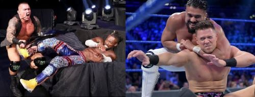 There were a number of shocking botches this week on SmackDown Live