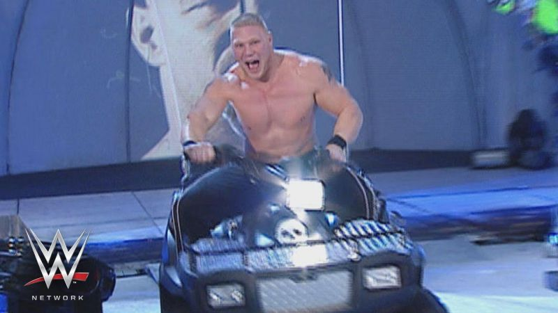 Brock Lesnar had quite an eventful stint on the Blue Brand from 2002 to 2004.