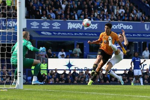 Raul Jimenez has been on target for Wolves twice this season